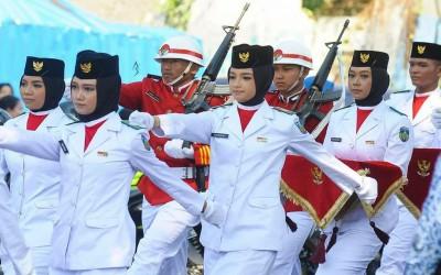 Putri Terbaik MA Darul Ulum Purwogondo menjadi PASKIBRAKA Kabupaten Jepara Tahun 2019